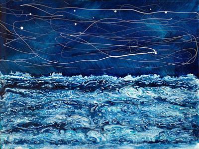 Ocean Surf Print by Paul Tokarski