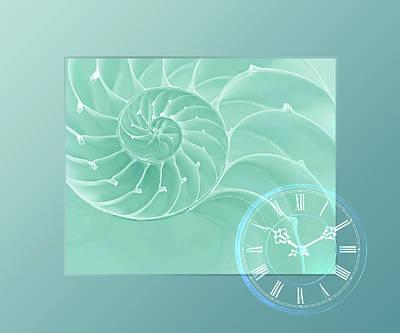 Ocean Time Print by Gill Billington