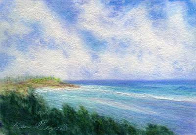 Ocean View Print by Kenneth Grzesik