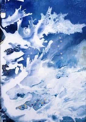 Angel Mermaids Ocean Painting - Oceania by Lee Pantas