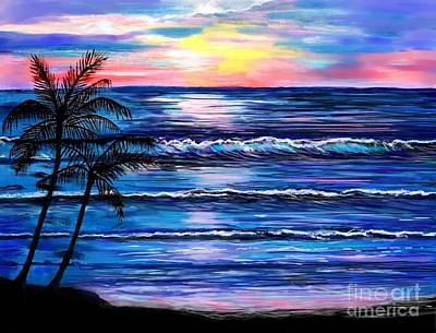Painting - Oceans Magic by Leslie Allen