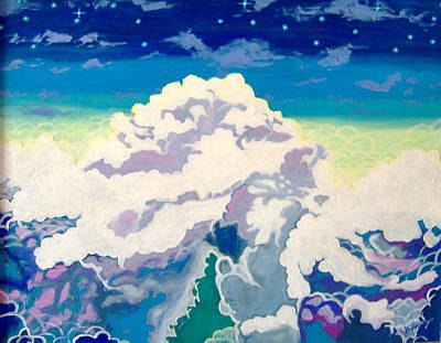 Oceans Of Clouds Original by Morten Bonnet