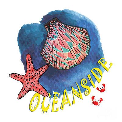 Oceanside Print by Gaspar Avila