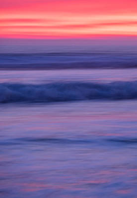 Sunset Photograph - Oceanside Sunset #3 - Abstract Photograph by Duane Miller