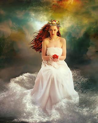 Aphrodite Digital Art - Oceciana by Mary Hood