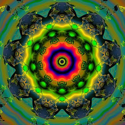 Algorithmic Digital Art - Ocf 479 by Claude McCoy