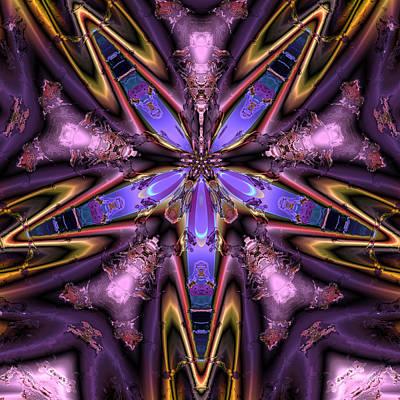 Algorithmic Digital Art - Ocf 483 by Claude McCoy