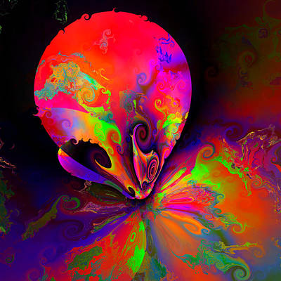 Colorful Abstract Digital Art - Ocf 510 by Claude McCoy