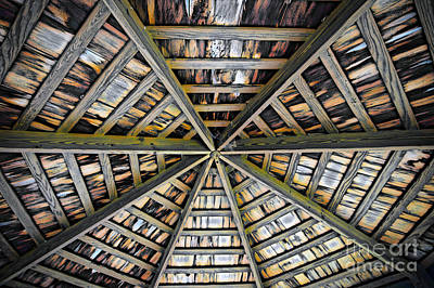 Buildings Photograph - Octagon Abstract by Tom Gari Gallery-Three-Photography