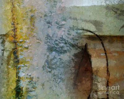 Abstract Digital Painting - October by Lutz Baar