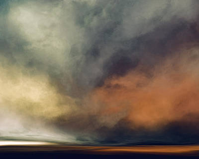 Stormy Mixed Media - October Sky by Lonnie Christopher