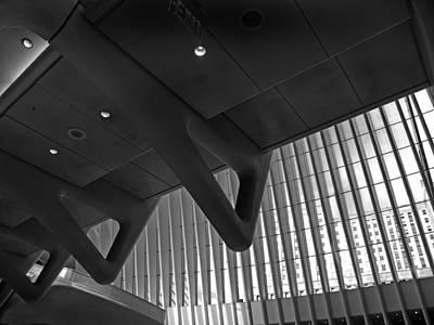 Ground Zero Digital Art - Oculus Interior by Jessica Jenney