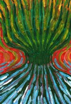 Odd Tree Print by Wojtek Kowalski