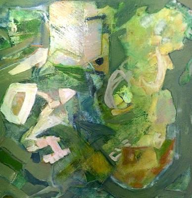 Ode To Degas Original by Indira Marin Dingledine