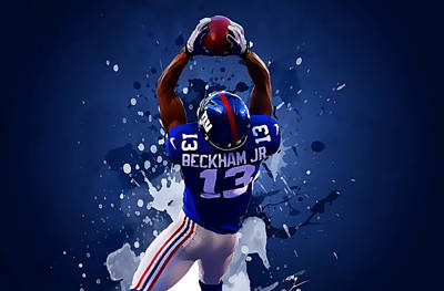 Jj Digital Art - Odell Beckham by Semih Yurdabak