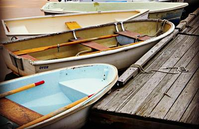 Boat Photograph - Off The Wharf by Diane Valliere