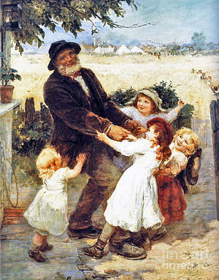 Off To The Fair Print by Frederick Morgan