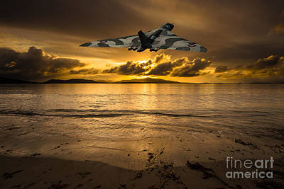 Vulcan Photograph - Off To War by Stephen Smith