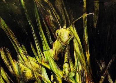 Oh Mantis Dearest Print by Shirosaki Black