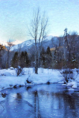 Winter Scenes Photograph - Oh The Weather Outside by Kim Hojnacki