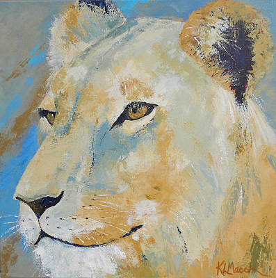 Painting - Oh To Be King by Karen Macek