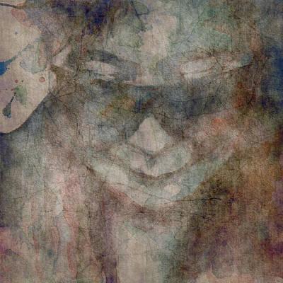 John Lennon Digital Art - Oh Yoko Porcelain  by Paul Lovering