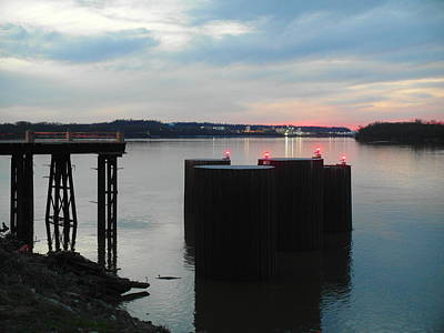 Owensboro Kentucky Photograph - Ohio River View by Christopher Brown
