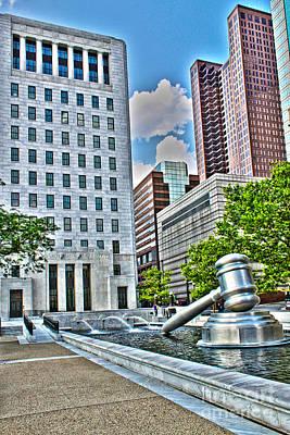 Columbus Ohio Photograph - Ohio Supreme Court by Jack Schultz