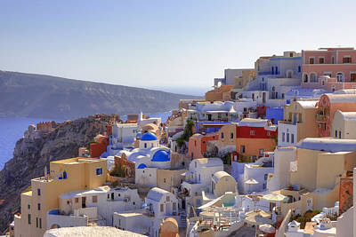 Greek Photograph - Oia - Santorini by Joana Kruse