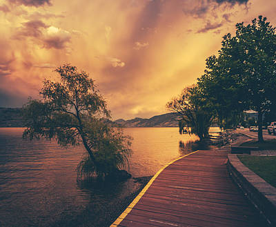 Jetty View Park Photograph - Okanagan Lake by Mr Doomits
