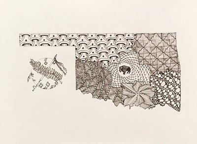 Where The Buffalo Roam Original by Linda Clary
