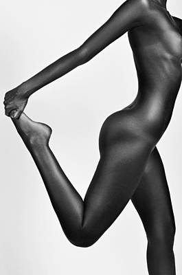 Oksana Nude Print by Eivydas Timinskas