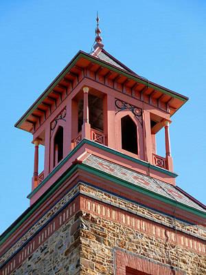 Church Pillars Painting - Olana 14 by Lanjee Chee