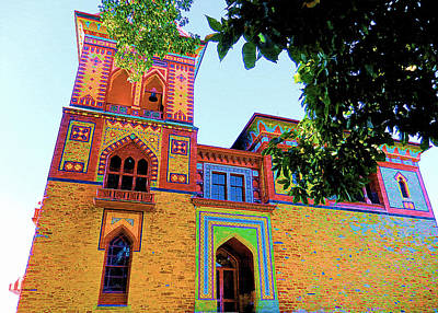Church Pillars Painting - Olana 15 by Lanjee Chee