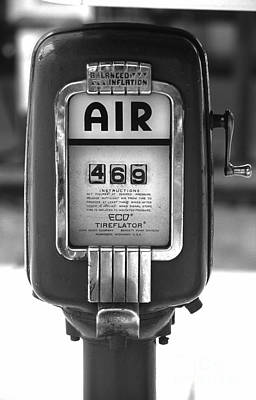 Old Air Pump Print by Arni Katz