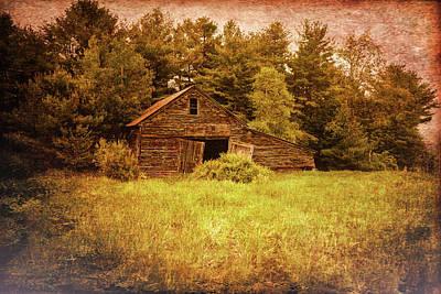 Old Barn Print by Bob Orsillo
