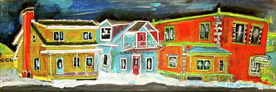 Old Beloeil Painting - Old Beloeil by Michael Litvack