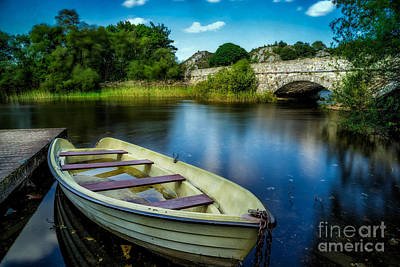 Llanberis Photograph - Old Boat by Adrian Evans
