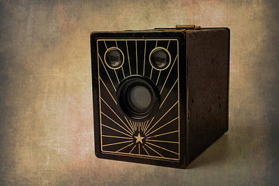 Aperture Photograph - Old Box Camera by Garry Gay