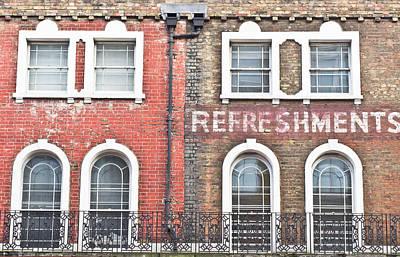 Brick Buildings Photograph - Old Brick Building by Tom Gowanlock