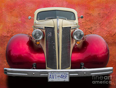 Custom Automobile Digital Art - Old Buick by Jim  Hatch