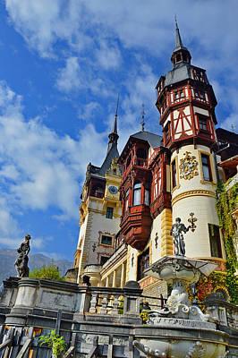 Old Castle. Sinaia. Romania. Original by Andy Za