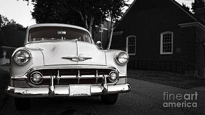 Classic Auto Photograph - Old Chevy Connecticut by Edward Fielding