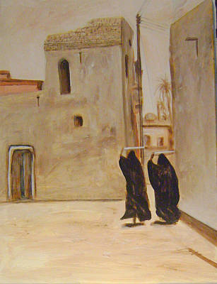 Old Iraqi City Painting - Old City 4 by Yahya Batat