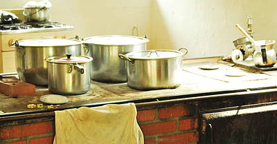 Old Colombian Kitchen Print by HQ Photo