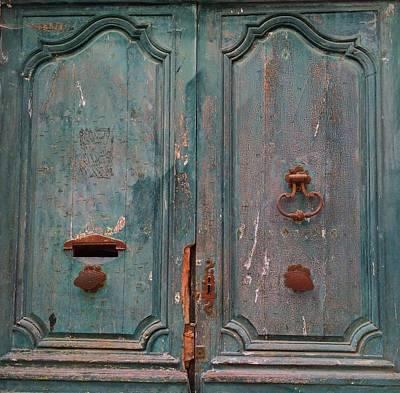 Old Entrance In Limoux Print by Dagmar Batyahav