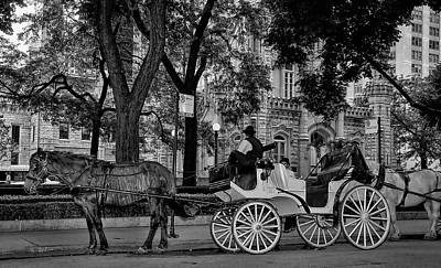 Old Fashion Ride Print by Jeff Lewis