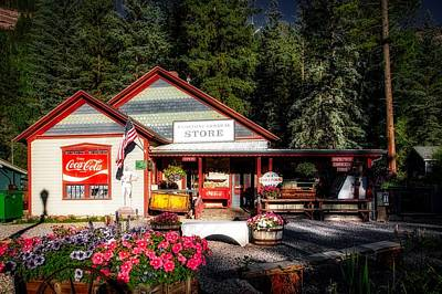Old Fashioned General Store Print by Mountain Dreams