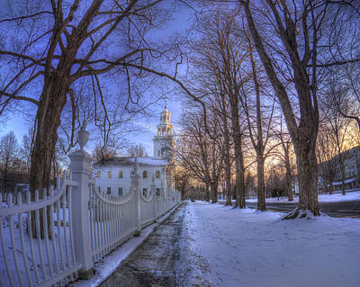 Bennington Photograph - Old First Church - Bennington Vt. by Joann Vitali