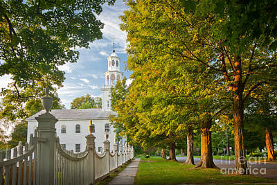 Bennington Photograph - Old First Churchin Bennington by Susan Cole Kelly
